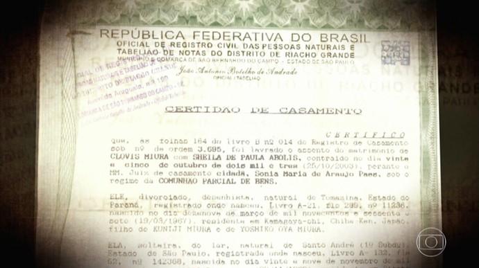 Clovis e Sheila são casados de papel passado (Foto: TV Globo)