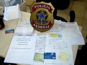 Suspeito usou documentos falsificados para conseguir empréstimo em Natal (Foto: Divulgação/Polícia Federal)