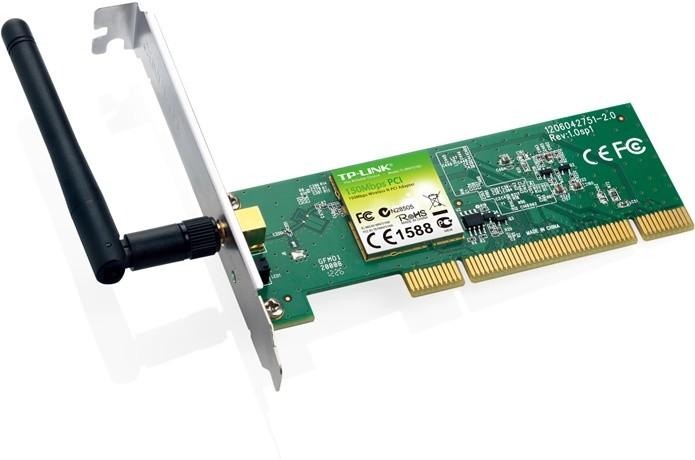 Adaptador wireless PCI com antena externa (Foto: Divulgação/TP-Link)