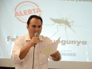 Rodrigo Pimentel, secretário de Governo e Relações Institucionais (Segov) de Campo Grande (Foto: Ernesto Franco/Prefeitura de Campo Grande)