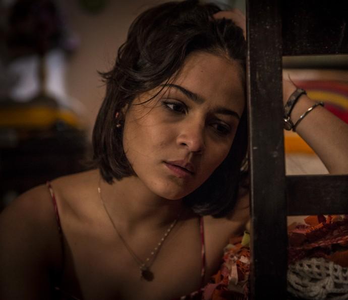 Olívia confessa que gosta de Miguel  (Foto: Inácio Moraes/Gshow)