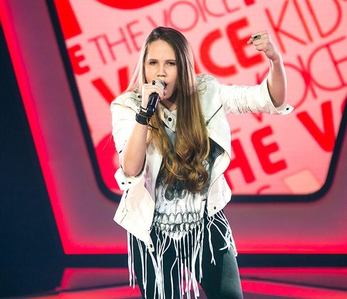 Carol Passos The Voice Kids (Foto: Isabella Pinheiro/Gshow)