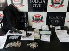Polícia prende grupo com drogas e armas em Guarujá, SP