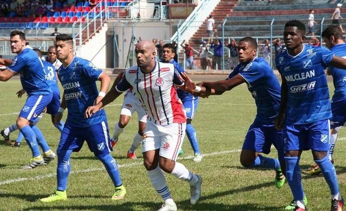 Penapolense x EC Taubaté (Foto: Silas Reche/Clube Atlético Penapolense)