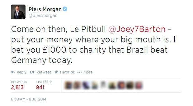 Piers Morgan (Foto: Twitter/Reprodução)