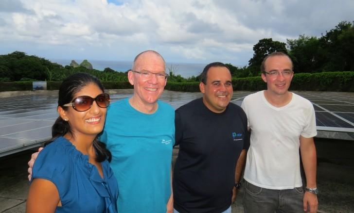Paloma González, David Mooney , Kleber Belo de Barros e Kirk Bardini