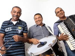 Trio Forrozão é um dos precursores do chamado forró universitário (Foto: Divulgação)