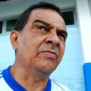 Franciso Diá - técnico do Nacional (Foto: Isabella Pina)