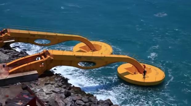 Startup usa ondas do mar para gerar energia