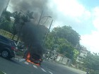 TRT pede que PF apure incêndio em carro que estava com desembargador