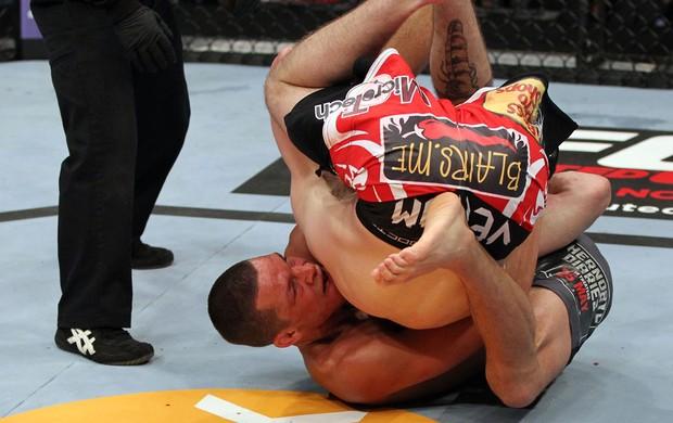 UFC Jim Miller; Nate Diaz (Foto: Getty Images)