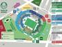 Botafogo-PB divulga mapa de acesso da Arena Palmeiras para a sua torcida