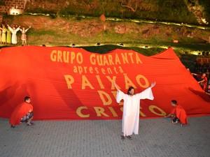 Abertura de Paixão de Cristo de Piracicaba (Foto: Fernanda Zanetti/G1)