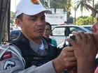 'Lei Seca' notifica mais de 50 no Carnaval (Walter Paparazzo/G1)