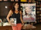 Carolina Ferraz ganha na Justiça após ter nome ligado a pornografia