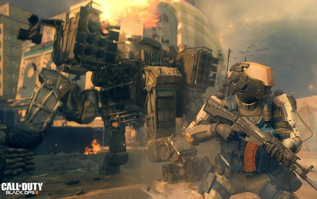 'Call of Duty: Black Ops III' terá guerra ainda mais futurista (Foto: Divulgação/Activision)