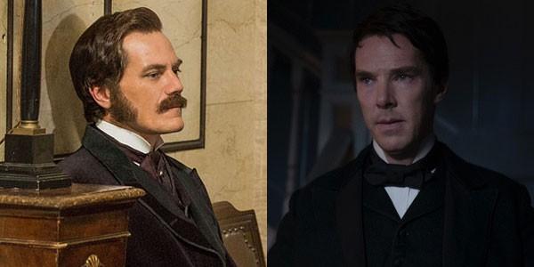 No longa, Michael Shannon e Benedict Cumberbatch disputam uma guerra pela distribuição da eletricidade nos EUA (Foto: Divulgação)
