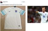 Site divulga suposta camisa da Inglaterra para a Euro 2016 (Reprodução)