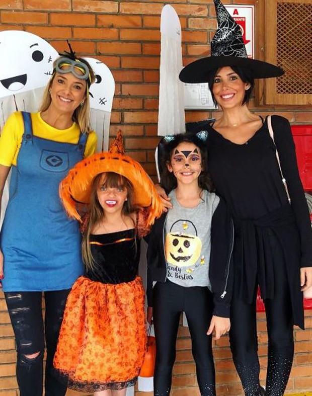 Tici, Rafinha, Donatella e Suzana (Foto: Reprodução/Instagram)