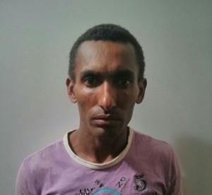 Adriano Claudino dos Santos, de 33 anos, foi preso (Foto: Divulgação/ 1ª Cia)