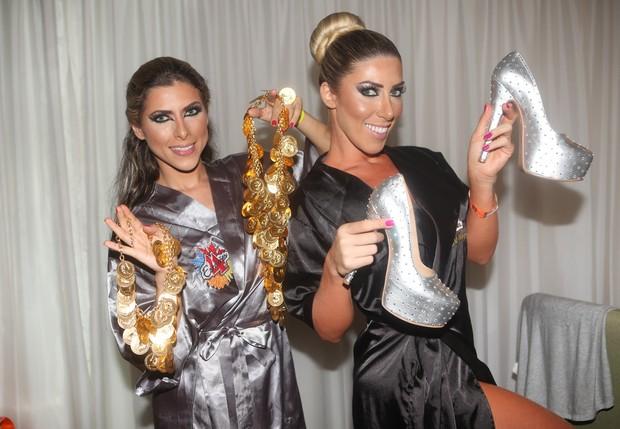 Ana Paula e Tatiane Minerato (Foto: Iwi Onodera / EGO)