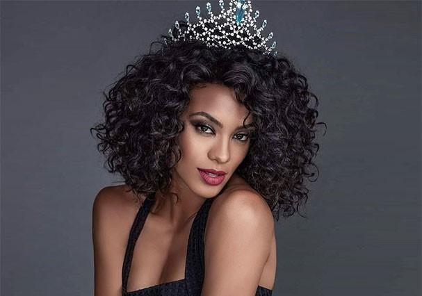 Raíssa Santana como Miss Brasil 2016 (Foto: Divulgação)