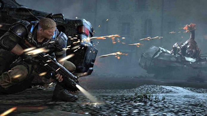 Gears of War 4 mantém o estilo da série mas apresenta novos protagonistas (Foto: Reprodução/Daily Express)