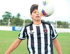 Vinnicius Sousa, Botafogo-PB (Foto: Divulgação / Botafogo-PB)