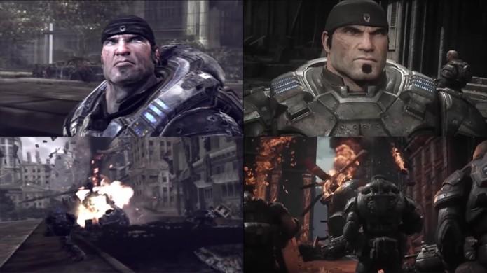 Gears of War: Ultimate Edition muda as coisas enquanto ainda as mantém familiares (Foto: Reprodução/YouTube)
