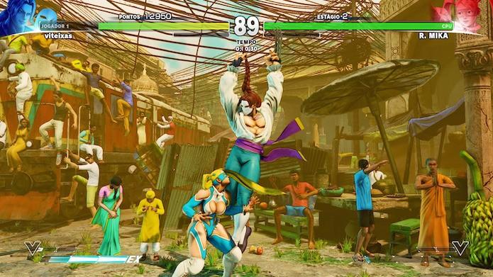Street Fighter V: como jogar o modo Sobrevivência (Foto: Reprodução/Victor Teixeira)