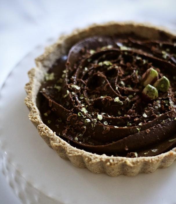 Torta mousse de avocado (Foto: Divulgação/Helena Mazza)
