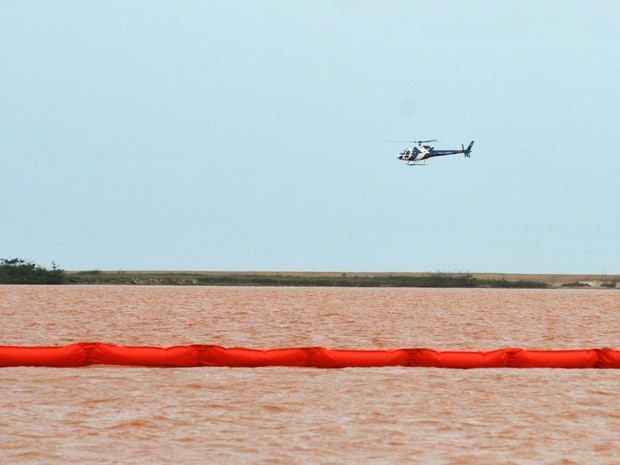 Lama avança 15 km ao Norte do mar no ES e 700 peixes aparecem mortos