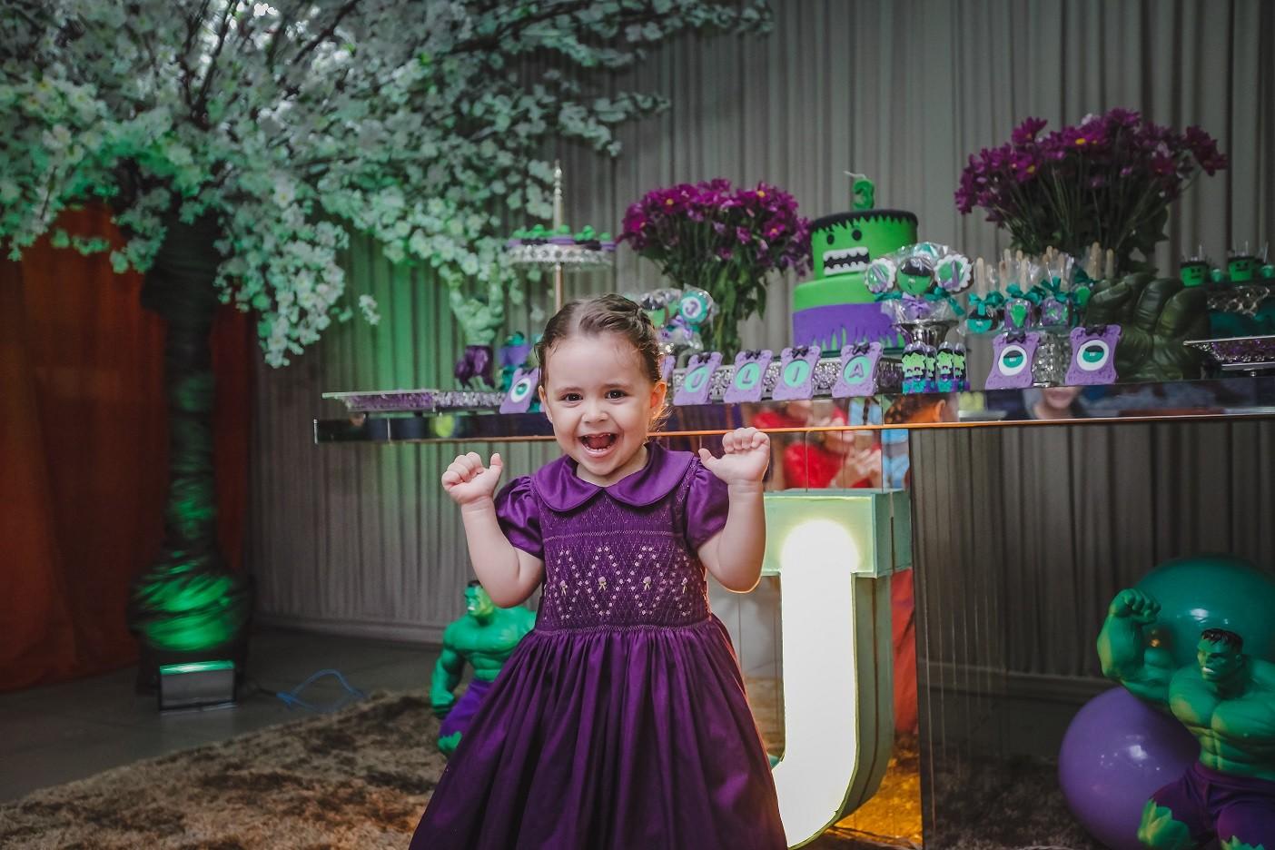 Júlia na festa (Foto: Arquivo pessoal)