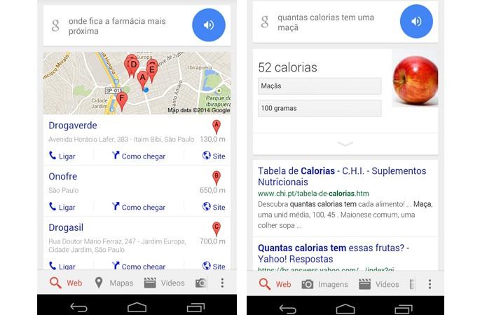 Google agora responde perguntas em português (Foto: Divulgação/Google)