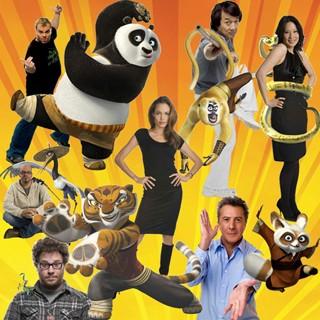 Os dubladores originais de 'Kung Fu Panda' são grandes nomes do cinema de Hollywood (Foto: Divulgação)