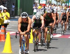 Bruno Matheus disputa Troféu Brasil de Triathlon (Foto: Divulgação)