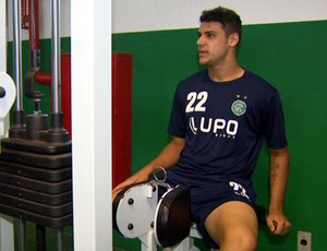 Ronaldo, atacante do Guarani (Foto: Carlos Velardi / EPTV)