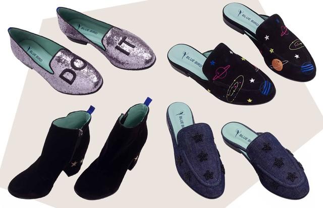 Blue Bird Shoes e Nati Vozza: coleção-cápsula (Foto: Arte Vogue Online)