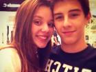Filho de Bonner e Fátima Bernardes comemora o Dia dos Namorados
