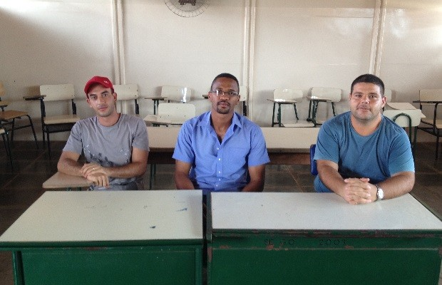 Detentos de Goiás estudam e se preparam para fazer o Enem prisional (Foto: Sílvio Túlio/G1)