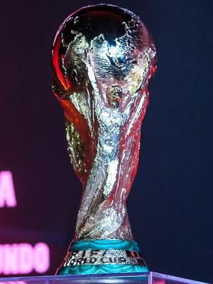 Taça da Copa do Mundo (Foto: Agência EFE)