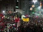 Manifestação contra governo Temer fecha Av. Paulista, em São Paulo