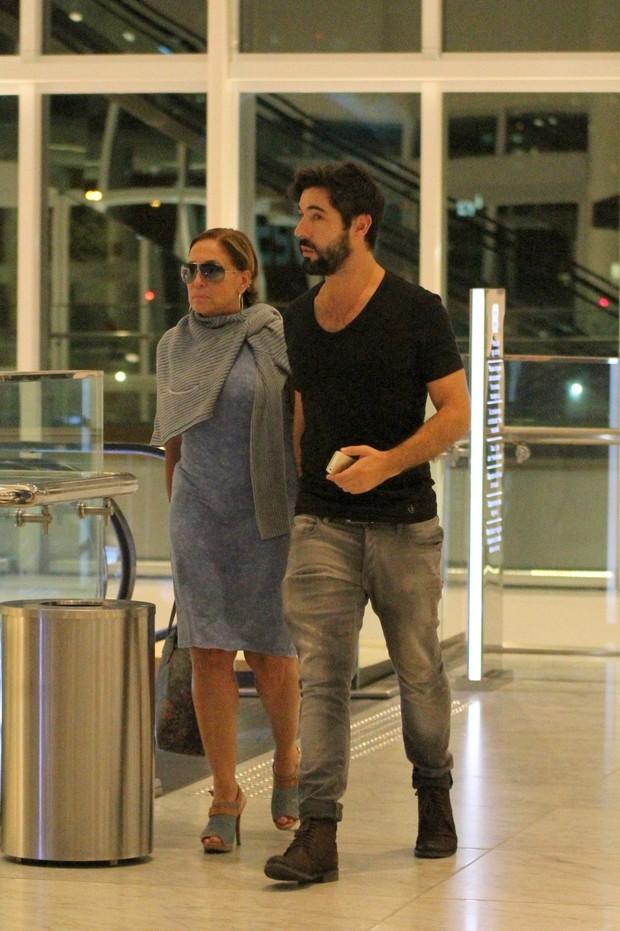 Susana Vieira e Sandro Pedroso  (Foto: Fabio Moreno/Agnews)