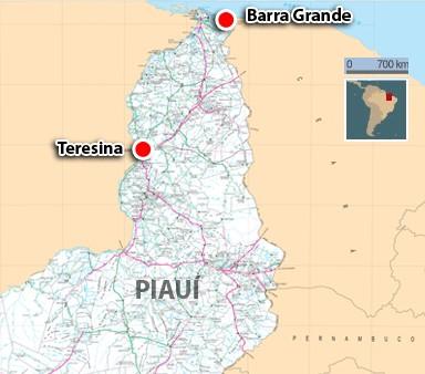 Barra Granda fica fica a quase 400 Km de Teresina (Foto: Adelmo Paixão/G1)