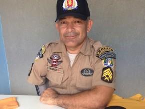 Sargento perdeu o braço em um acidente de trânsito (Foto: PM/Divulgação)