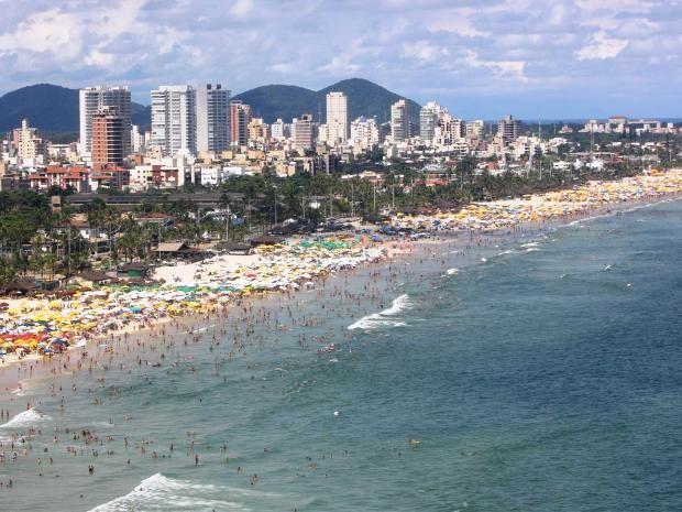 Enseada contará com novos quiosques em 2016 (Foto: Pedro Rezende/Prefeitura de Guarujá)