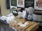 Polícia apreende quase 20 quilos de drogas em São Vicente, SP