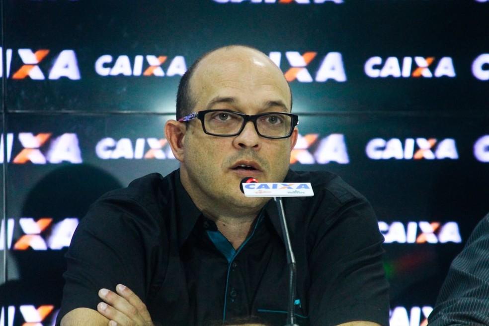 Ex-vice de operações, Tony Couceiro assume a presidência do Paysandu, como rege o estatuto do clube. (Foto: Fernando Torres/Paysandu)