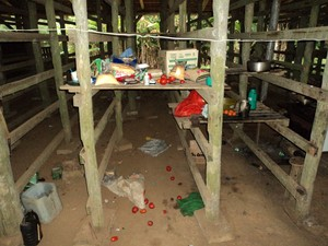 Os trabalhadores viviam em péssimas condições (Foto: Polícia Civil/Divulgação)