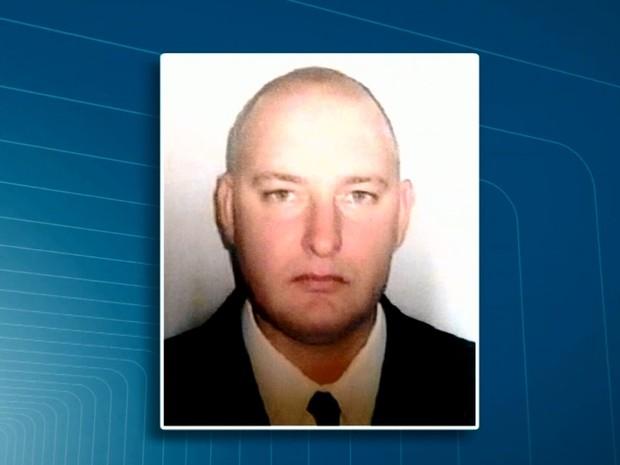 O policial do Alan Hopka estava foragido (Foto: Reprodução/EPTV)